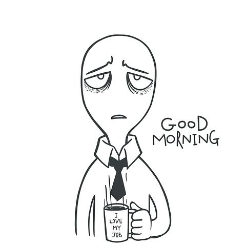 仕事が辛い憂鬱な朝の解決法5選。経験者が伝えたいこと。